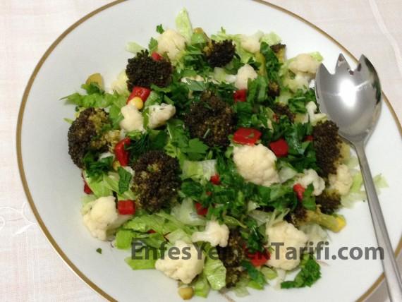 Karnabaharlı Brokoli Salatası
