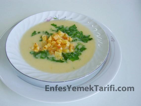Patates Kızartmalı Sebze Çorbası