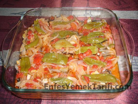 Zeytinyağlı Ekşili Patlıcan